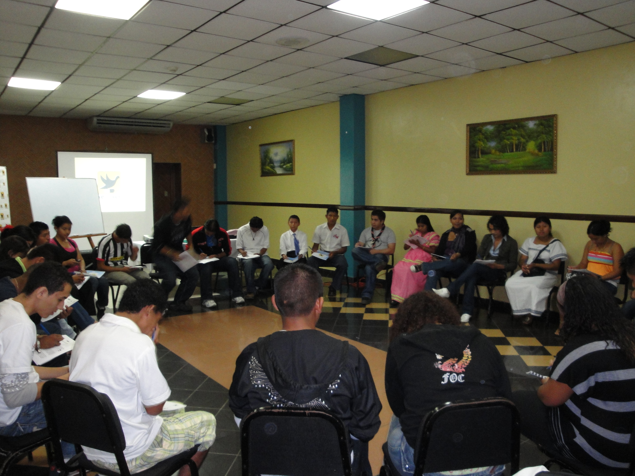 Segundo Taller del Proyecto de Formación de Talentos Juveniles en la Prevención del VIH