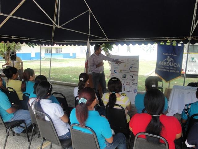 Feria de Salud Organizada por MEDUCA