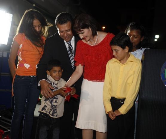 Celebración del Día Mundial en en Palacio Presidencial