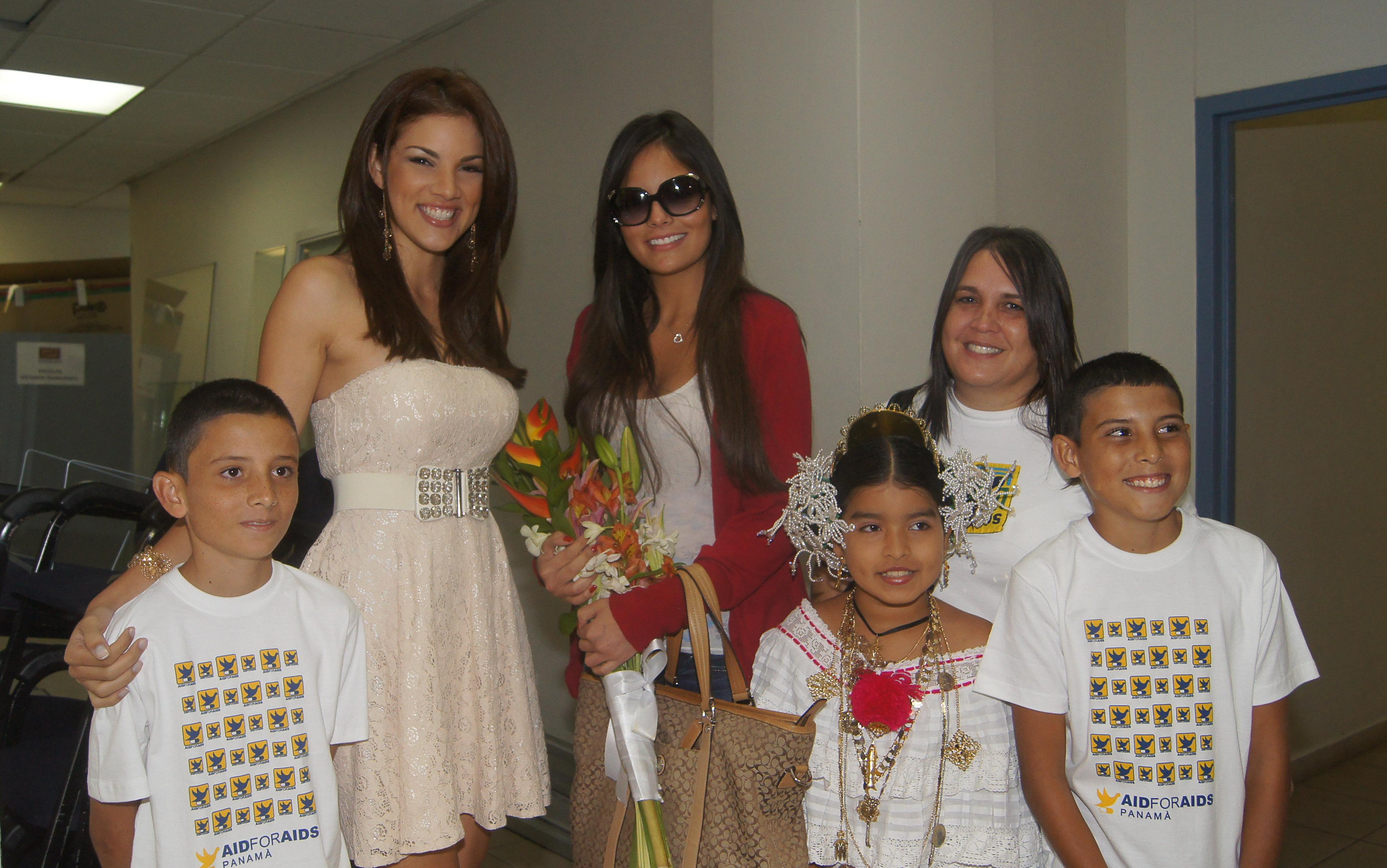 Aid For AIDS le da la Bienvenida a Ximena Navarrete Miss Universo 2010