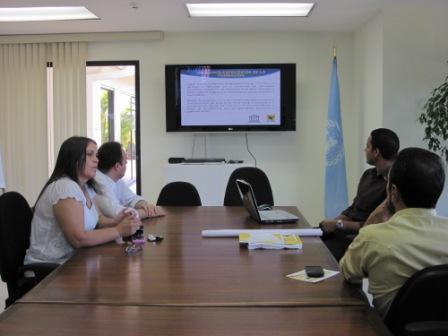 Entrega de Informe a UNESCO